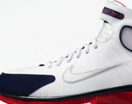 bb1a21287b4ee Here is a look at the Nike Zoom Huarache 2k4 Sneaker From the Dream Team  Collection releasing this summer