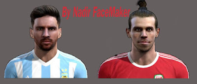 New Faces Lionel Messi, Gareth Bale, Pes 2013