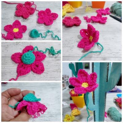 Flor para cactus