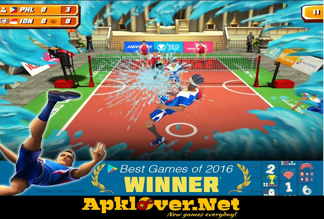 Roll Spike Sepak Takraw MOD APK Unlimited Money
