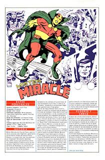Mister Milagro Ficha DC Comics