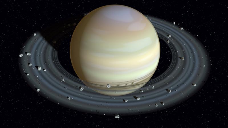 Fakta Mengenai Planet Saturnus : Planet Saturnus memiliki cincin