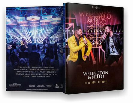 DVD Welington & Nillo - Tudo Novo de Novo - ISO