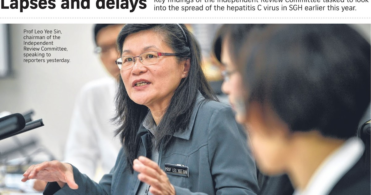 If Only Singaporeans Stopped to Think: Hepatitis C outbreak