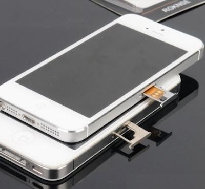 Mua sim ghép cho iPhone 5 tại đâu?