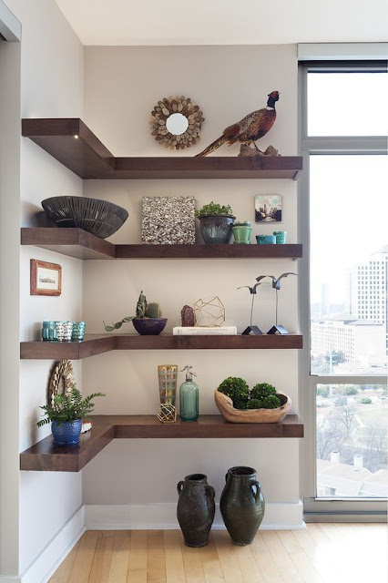 35 Creative Wall Shelves Ideas