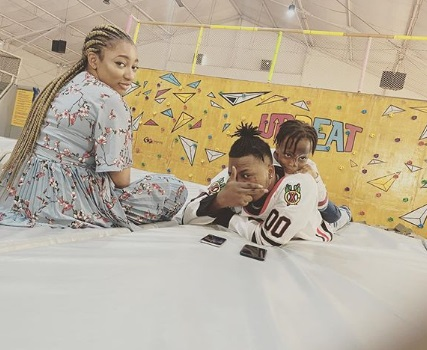 Olamide shares new family photo to celebrate son on his 5th birthday