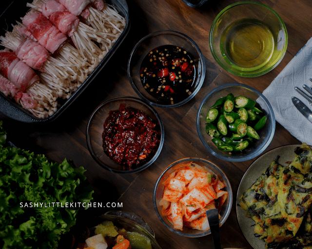 Membuat Korean BBQ ala resto di rumah