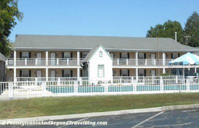Quality Inn in Gettysburg Pennsylvania - Near the Battlefield