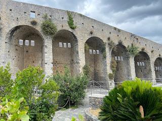 Part of a wall in Castello Doria (Porto Venere)