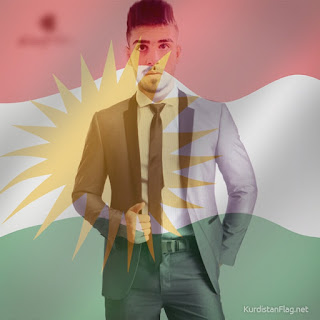 تەنها بە یەك کلیك، وێنەی پرۆفایلەکەت بڕازێنەوە بە ئاڵای کوردستان. KurdistanFlag