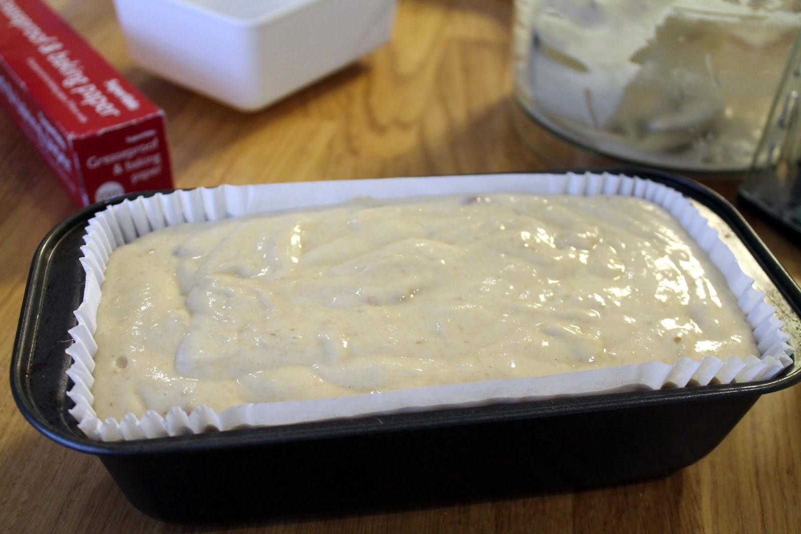 Banana Cake 1lb Loaf Tin