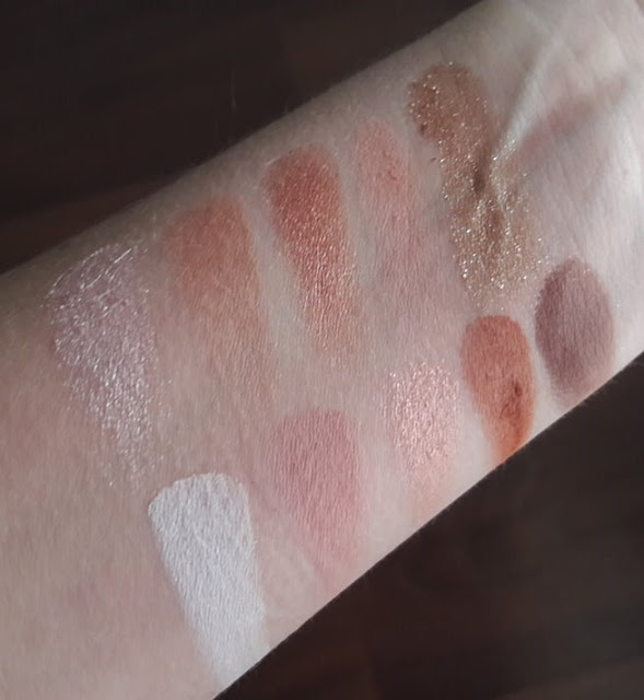 Makeup Obsession swatch sjenila notino.hr