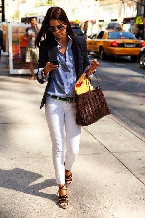 Le jeans blanc pour toutes les silhouettes !