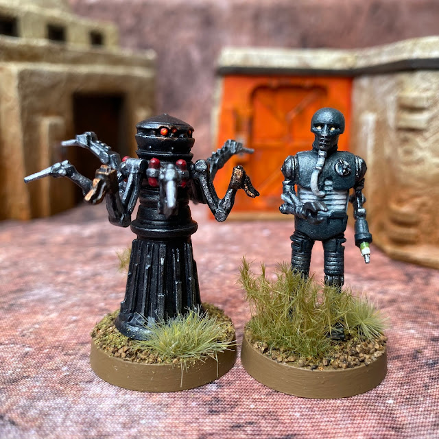 Star Wars Legion: Rebel 2-1B and Imperial FX-9 Medical Droids