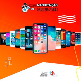 Melhor curso de manutenção celulares celular smartphone iphone tablet do Brasil