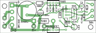 PWM Motor Controller PCB