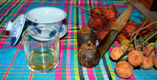 North Vietnamese White tea and fruit