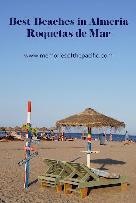 almeria beach spain roquetas mar coast