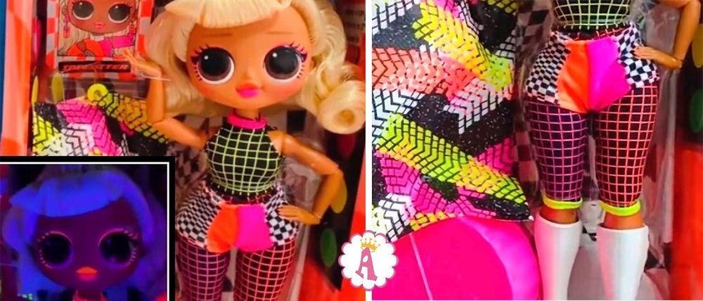 Кукла L.O.L. Surprise O.M.G. Lights Speedster новинка 2020 года