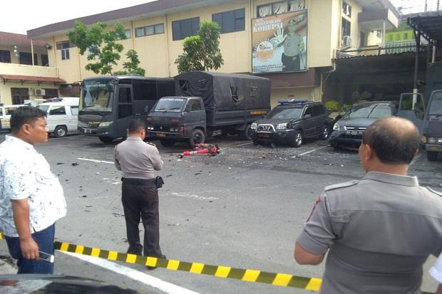 Polrestabes Medan Diserang Bom Bunuh diri