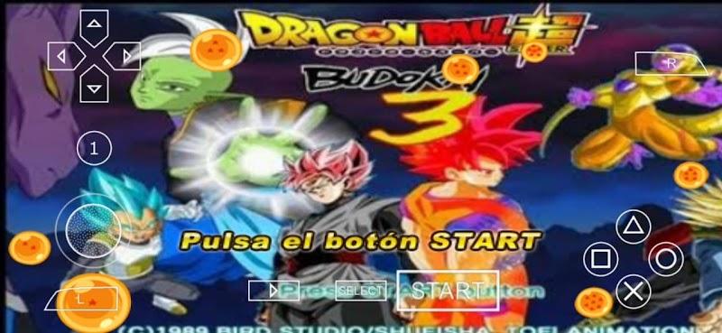 Android PSP ISO Dragon Ball Super Budokai 3 DBZ TTT MOD