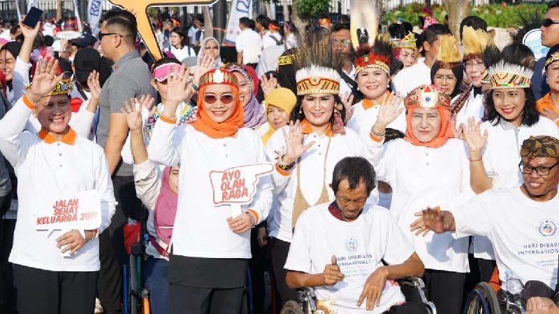 Jalan Sehat Keluarga Indonesia 2019