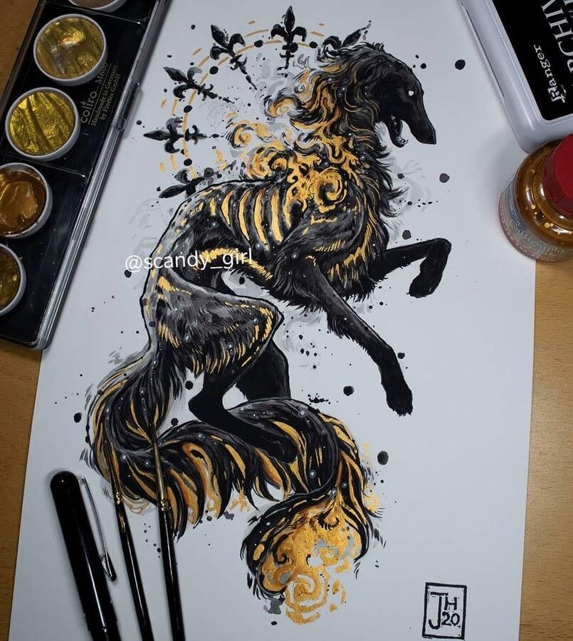 10-Hellhound-Mythology-Jonna-Hyttinen-www-designstack-co