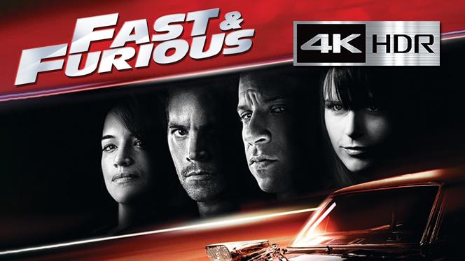 Rápidos y furiosos (2009) 4K UHD [HDR] Latino-Ingles