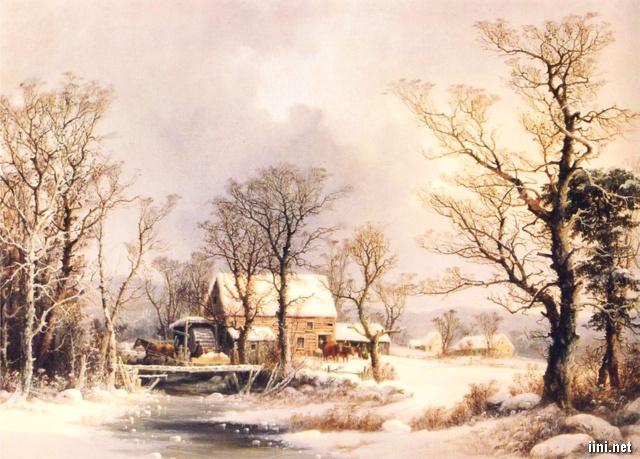 ảnh khung cảnh mùa đông đẹp