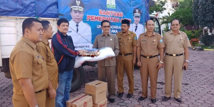 Pemerintah Aceh Salurkan Bantuan untuk Korban Kebakaran Bakongan Aceh Selatan