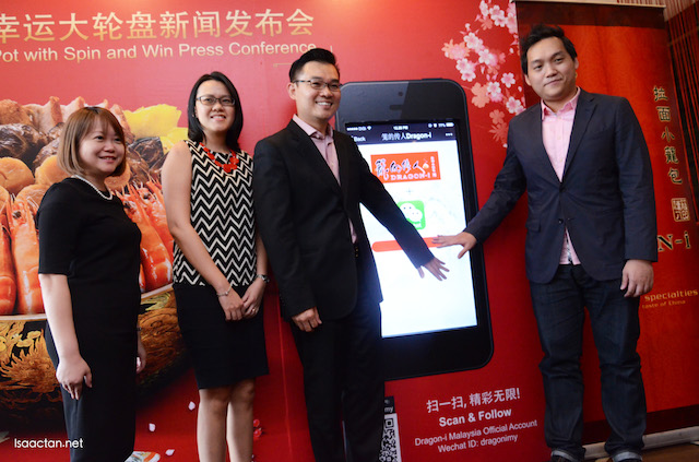 "Launch of the ""Spin & Win"" WeChat Game"