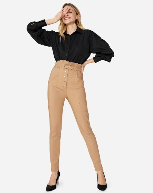 calça skinny clochard