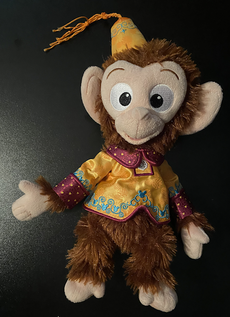 Albert Monkey Mystic Manor Lunar New Year Plush Hong Kong Disneyland