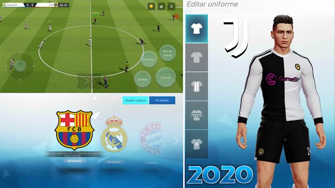 POR FIN! EL INCREIBLE JUEGO DE FUTBOL 2020 PARA ANDROID MEJOR QUE DLS 20 Y FIFA? GRAFICOS REALISTA