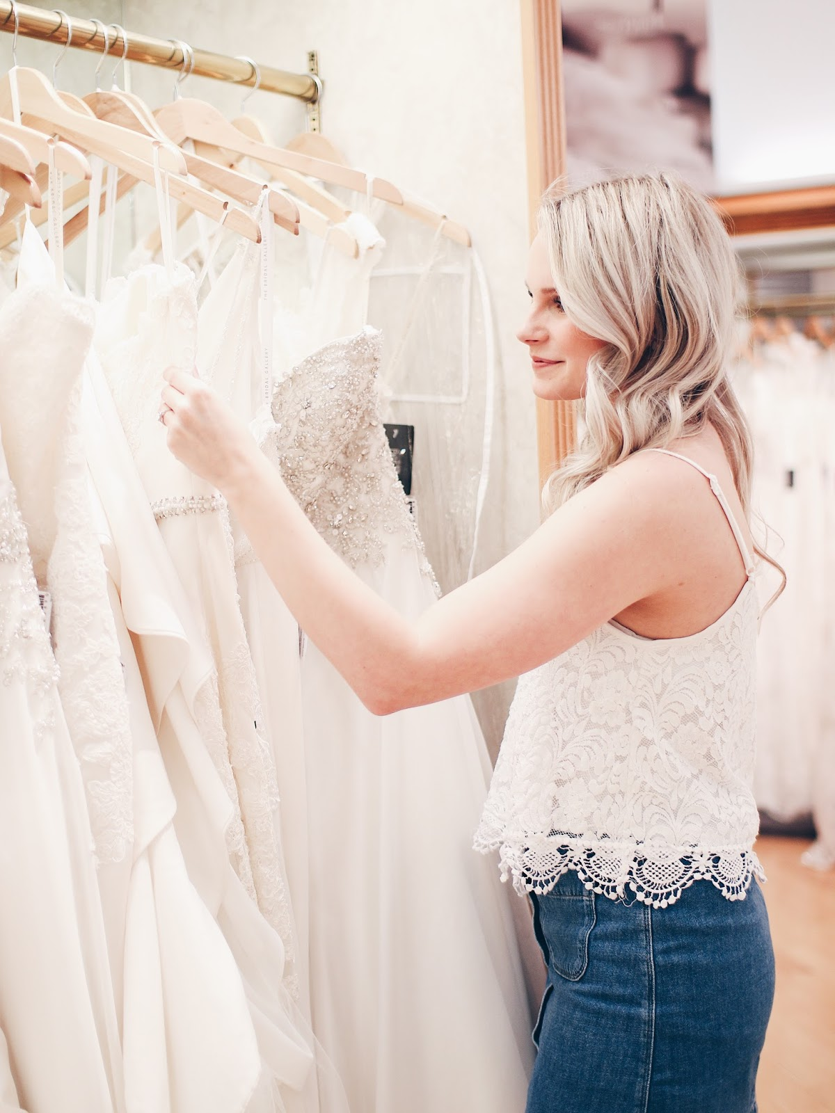what to wear to a bridal fitting