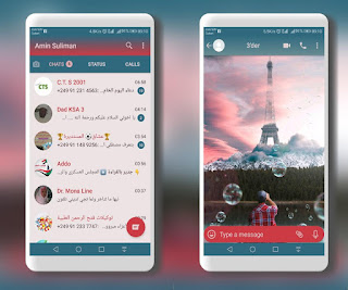 Eiffel Tower Theme For YOWhatsApp & Fouad WhatsApp By Ameen