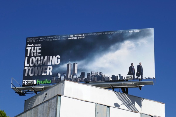 Looming Tower series premiere billboard