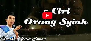 WASPADA!!! 5 Ciri Orang Syiah - Ustadz Abdul Somad [Video]