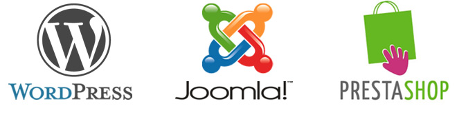 wordpress joomla prestashop