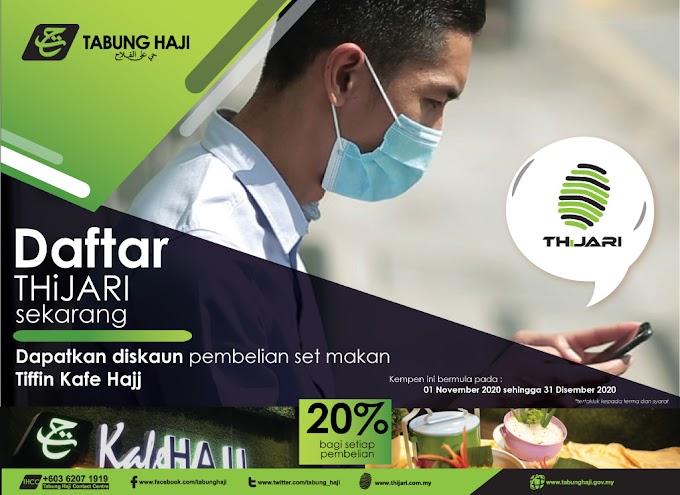 Jom Daftar THiJARI - Urusan Tabung Haji Secara Online