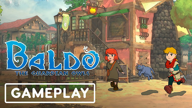 Baldo: The Guardian Owls (Switch) ganha mais um vídeo de gameplay com foco em exploração e combate