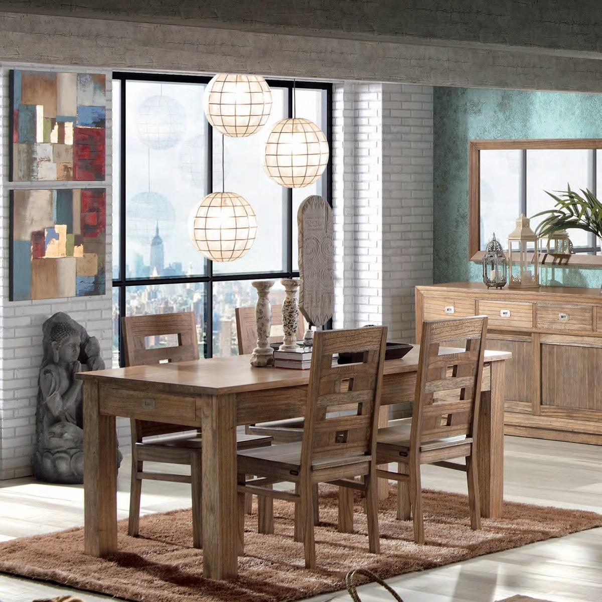 Muebles de comedor 4 opciones para el comedor - Comedores estilo colonial ...