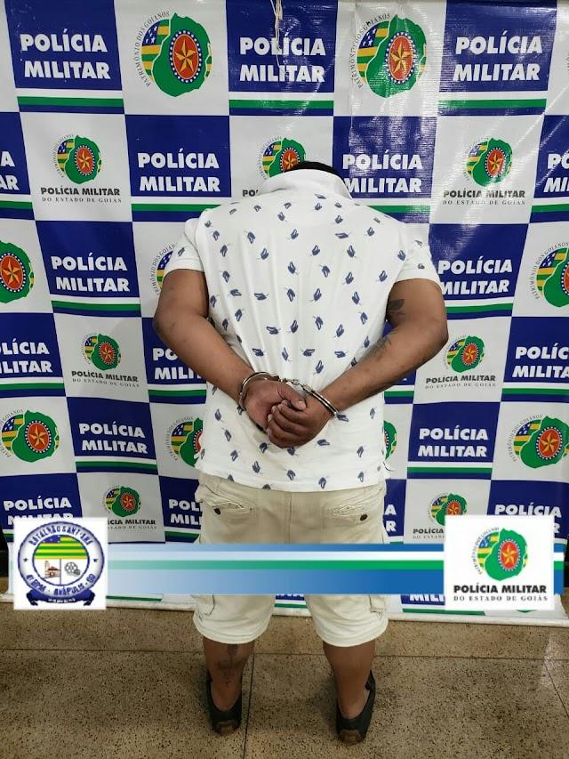 Anápolis: Traficante é preso com 12 mil reais em drogas e 24 relógios de origem suspeita