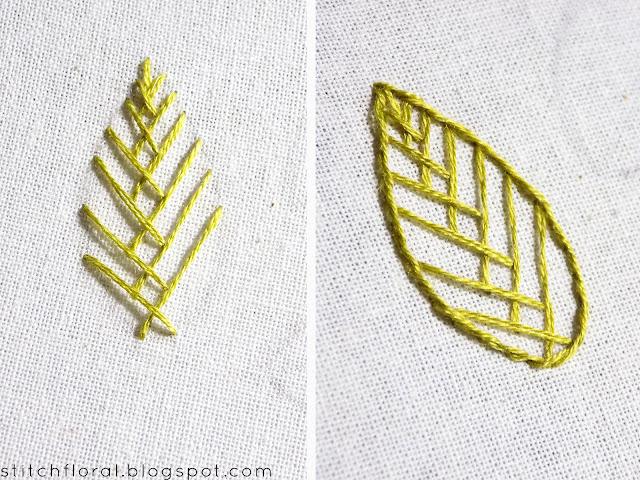 open fishbone stitch