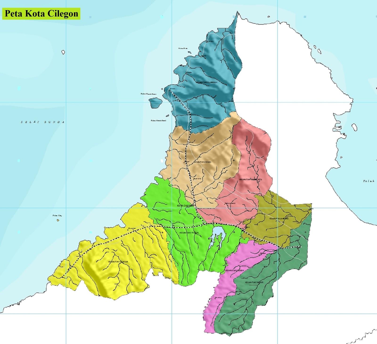 Peta Kota Cilegon
