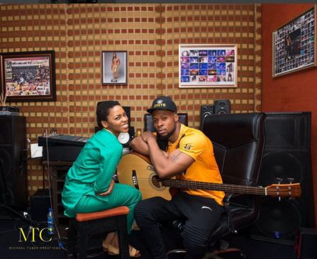 Checkout the comments on Chidinma Ekile's page after she posted a picture she took with Flavour