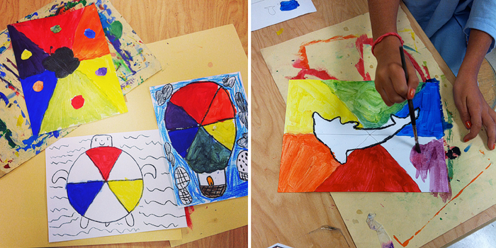 5th Intermediate And Analogous Colors 4th Complementary 3rd Color Wheels Primary Secondary They Made Hot Air Balloon