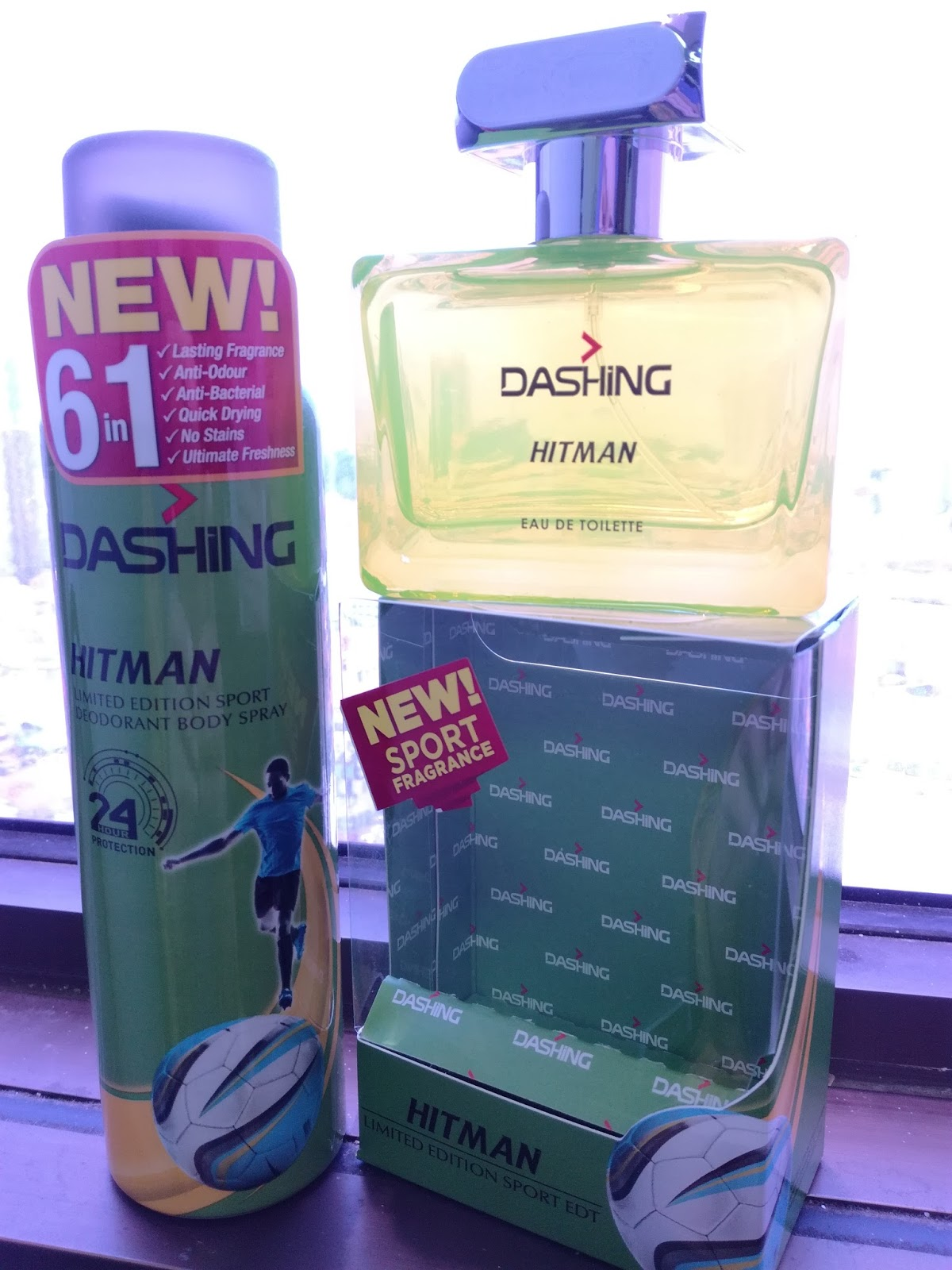 DASHING SPORT – Eau De Toilette dan Deodoran Buat Lelaki Aktif
