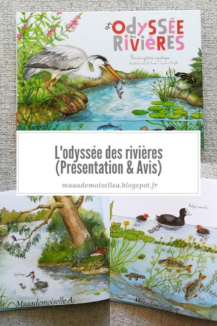 || L'odyssée des rivières (Présentation & Avis)(Chut, les enfants lisent # 106)